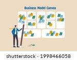writing business model ...   Shutterstock .eps vector #1998466058