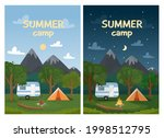 day and night landscape...   Shutterstock .eps vector #1998512795