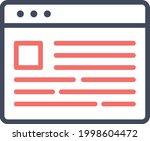 webpage  news  layout icon...