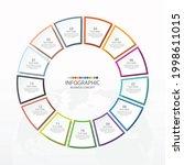 basic circle infographic...   Shutterstock .eps vector #1998611015