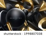 black and golden geometric... | Shutterstock .eps vector #1998807038