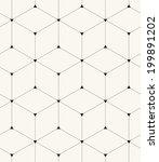 vector seamless pattern. modern ... | Shutterstock .eps vector #199891202