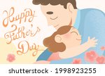happy father's day celebration... | Shutterstock .eps vector #1998923255