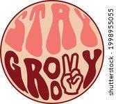70s hippie retro inspirational...   Shutterstock .eps vector #1998955055