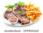 Tender Grilled Porterhouse Or T ...