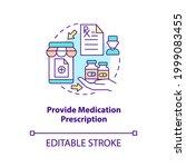 provide medication prescription ... | Shutterstock .eps vector #1999083455