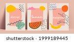 abstract summer background... | Shutterstock .eps vector #1999189445