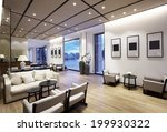 elegant business clubhouse... | Shutterstock . vector #199930322