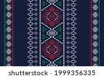 ethnic design ikat pattern... | Shutterstock .eps vector #1999356335