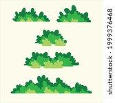 simple cute cartoon bush to...   Shutterstock .eps vector #1999376468
