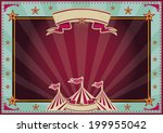 horizontal circus background... | Shutterstock .eps vector #199955042