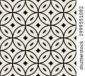 vector seamless pattern. modern ... | Shutterstock .eps vector #1999551092