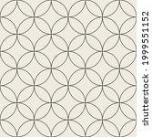 vector seamless pattern. modern ... | Shutterstock .eps vector #1999551152