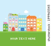 Pixel Art House Vector Set Card