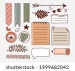 bullet journal element.... | Shutterstock .eps vector #1999682042