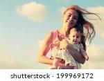 Portrait Of Happy Loving Mother ...