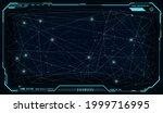 futuristic ui hud big data...