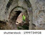 Old Turkish Bath Ruins In Iznik....