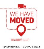 we are moving from one address... | Shutterstock .eps vector #1999764515