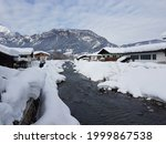 Austria Chalet In The Snow