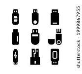 flash disk icon or logo...