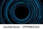 dark blue circular lines...
