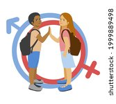 equal opportunities in... | Shutterstock .eps vector #1999889498