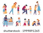 family support. parents and... | Shutterstock .eps vector #1999891265
