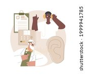 hearing screening abstract...   Shutterstock .eps vector #1999941785