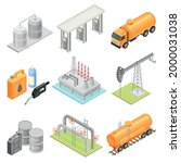 Oil Or Petroleum Industry With...