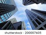 modern building landscape in... | Shutterstock . vector #200007605