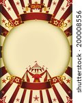 circus cream entertainment. a... | Shutterstock .eps vector #200008556