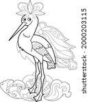 contour linear illustration...   Shutterstock .eps vector #2000203115