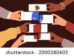 psychological concept of public ...   Shutterstock .eps vector #2000280605