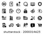 vector set of technology icons...