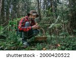 A Young Male Mushroom Picker...