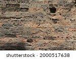 texture of old brick ancient... | Shutterstock . vector #2000517638