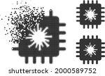 dust pixelated infected chip...   Shutterstock .eps vector #2000589752