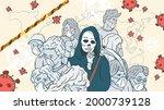 banner illustration for design...   Shutterstock .eps vector #2000739128