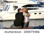 beautiful young heterosexual... | Shutterstock . vector #200075486