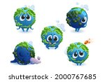 cute planet earth character... | Shutterstock .eps vector #2000767685