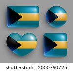 set of glossy buttons with... | Shutterstock .eps vector #2000790725
