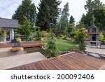 back yard of a contemporary... | Shutterstock . vector #200092406