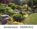 naturally sculptured flat top... | Shutterstock . vector #200092412