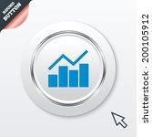 graph chart sign icon. diagram...