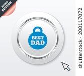 best dad sign icon. award...