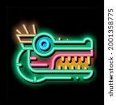 Sacred Totem Animal Head Neon...
