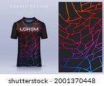fabric textile design for sport ... | Shutterstock .eps vector #2001370448