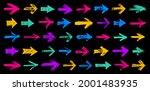 hand drawn arrows vector big...