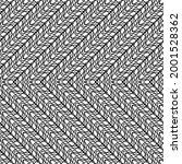 design seamless monochrome... | Shutterstock .eps vector #2001528362